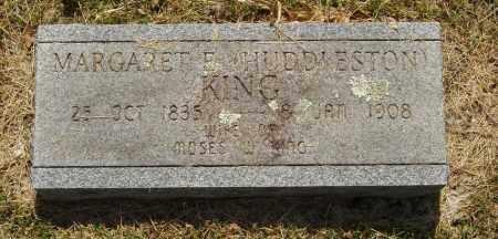 HUDDLESTON KING, MARGARET E - Izard County, Arkansas | MARGARET E HUDDLESTON KING - Arkansas Gravestone Photos
