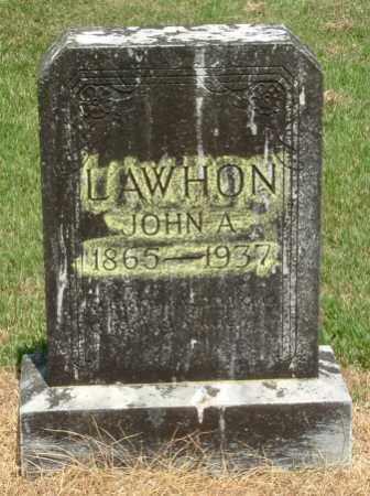 LAWHON, JOHN ACE - Izard County, Arkansas | JOHN ACE LAWHON - Arkansas Gravestone Photos