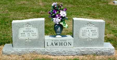 MARLIN LAWHON, LULA MAY - Izard County, Arkansas | LULA MAY MARLIN LAWHON - Arkansas Gravestone Photos
