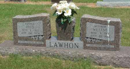 SIPES LAWHON, WILLENE - Izard County, Arkansas | WILLENE SIPES LAWHON - Arkansas Gravestone Photos