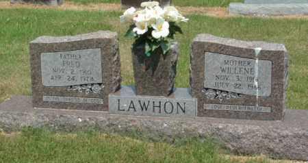 LAWHON, WILLENE - Izard County, Arkansas | WILLENE LAWHON - Arkansas Gravestone Photos