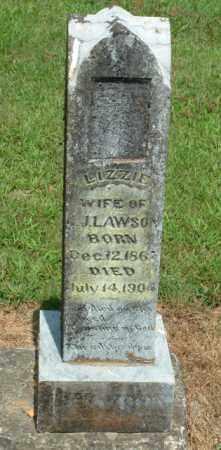 LAWSON, ELIZABETH LIZZIE ADLINE - Izard County, Arkansas | ELIZABETH LIZZIE ADLINE LAWSON - Arkansas Gravestone Photos