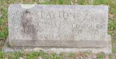 LAYTON, MARY ANN - Izard County, Arkansas | MARY ANN LAYTON - Arkansas Gravestone Photos