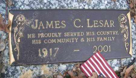 LESAR, JAMES C - Izard County, Arkansas | JAMES C LESAR - Arkansas Gravestone Photos