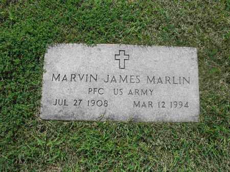MARLIN  (VETERAN), MARVIN JAMES - Izard County, Arkansas | MARVIN JAMES MARLIN  (VETERAN) - Arkansas Gravestone Photos