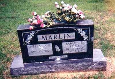 MARLIN, SAMUEL ELNA - Izard County, Arkansas | SAMUEL ELNA MARLIN - Arkansas Gravestone Photos