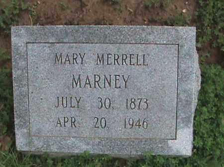 """MARNEY, MARY """"MERRELL"""" - Izard County, Arkansas   MARY """"MERRELL"""" MARNEY - Arkansas Gravestone Photos"""