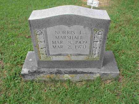 MARSHALL, NORRIS L. - Izard County, Arkansas | NORRIS L. MARSHALL - Arkansas Gravestone Photos