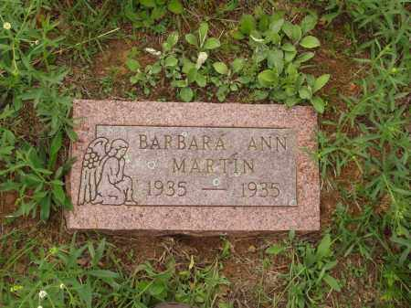 MARTIN, BARBARA ANN - Izard County, Arkansas | BARBARA ANN MARTIN - Arkansas Gravestone Photos