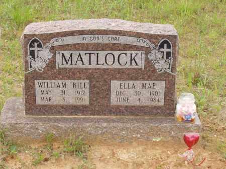 MATLOCK, ELLA MAE - Izard County, Arkansas | ELLA MAE MATLOCK - Arkansas Gravestone Photos