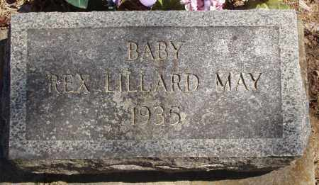 MAY, REX LILLARD - Izard County, Arkansas | REX LILLARD MAY - Arkansas Gravestone Photos