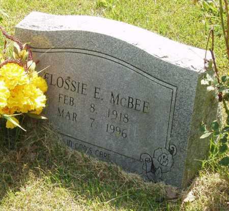 MC BEE, FLOSSIE E - Izard County, Arkansas | FLOSSIE E MC BEE - Arkansas Gravestone Photos
