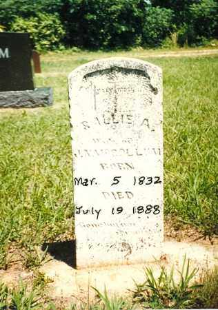 ROGERS MCCOLLUM, SARAH - Izard County, Arkansas   SARAH ROGERS MCCOLLUM - Arkansas Gravestone Photos