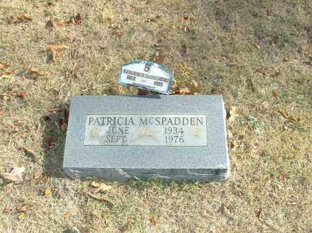 MCSPADDEN, PATRICIA - Izard County, Arkansas | PATRICIA MCSPADDEN - Arkansas Gravestone Photos