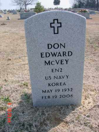 MC VEY  (VETERAN KOR), DON EDWARD - Izard County, Arkansas | DON EDWARD MC VEY  (VETERAN KOR) - Arkansas Gravestone Photos