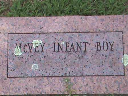 MC VEY, INFANT BOY - Izard County, Arkansas | INFANT BOY MC VEY - Arkansas Gravestone Photos