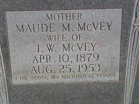 MC VEY, MAUDE M. - Izard County, Arkansas | MAUDE M. MC VEY - Arkansas Gravestone Photos