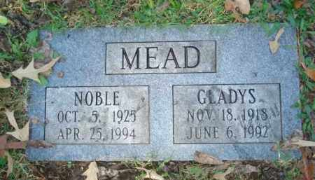 MEAD, NOBLE - Izard County, Arkansas   NOBLE MEAD - Arkansas Gravestone Photos