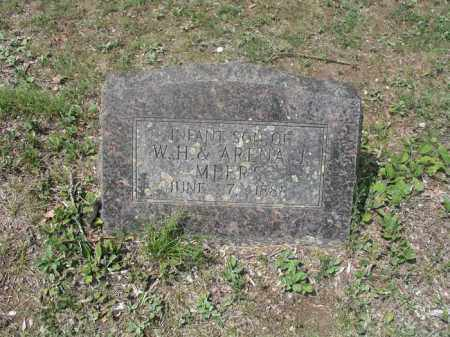 MEERS, INFANT SON - Izard County, Arkansas | INFANT SON MEERS - Arkansas Gravestone Photos