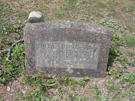 MEERS, ROY SPURGEON - Izard County, Arkansas | ROY SPURGEON MEERS - Arkansas Gravestone Photos