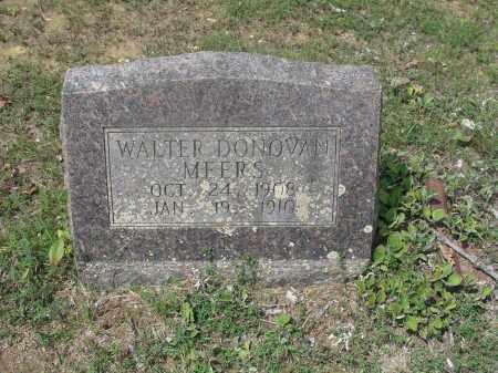 MEERS, WALTER DONOVAN - Izard County, Arkansas | WALTER DONOVAN MEERS - Arkansas Gravestone Photos