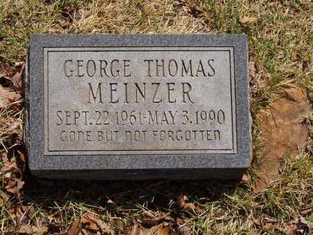 MEINZER, GEORGE THOMAS - Izard County, Arkansas | GEORGE THOMAS MEINZER - Arkansas Gravestone Photos