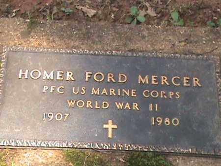 MERCER (VETERAN WWII), HOMER FORD - Izard County, Arkansas   HOMER FORD MERCER (VETERAN WWII) - Arkansas Gravestone Photos