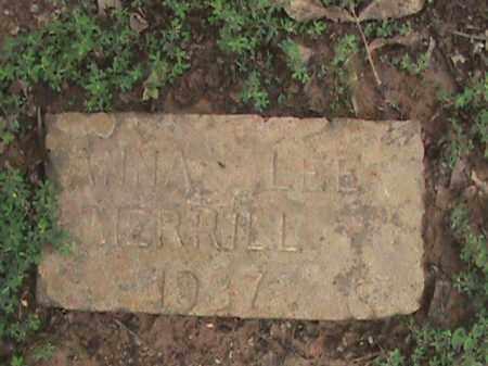MERRILL, ANNA LEE - Izard County, Arkansas   ANNA LEE MERRILL - Arkansas Gravestone Photos