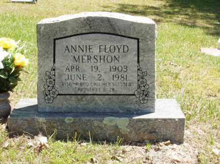 FLOYD MERSHON, ANNIE - Izard County, Arkansas | ANNIE FLOYD MERSHON - Arkansas Gravestone Photos
