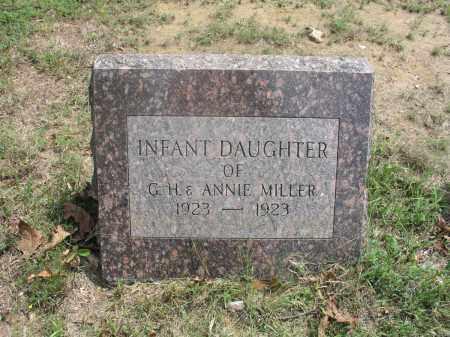 MILLER, INFANT DAUGHTER - Izard County, Arkansas | INFANT DAUGHTER MILLER - Arkansas Gravestone Photos