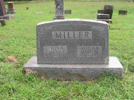 MILLER, JOHN WESLEY - Izard County, Arkansas | JOHN WESLEY MILLER - Arkansas Gravestone Photos