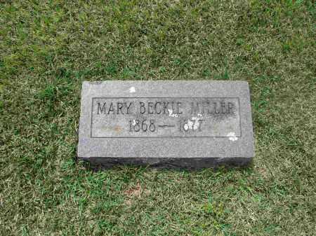MILLER, MARY BECKIE - Izard County, Arkansas   MARY BECKIE MILLER - Arkansas Gravestone Photos