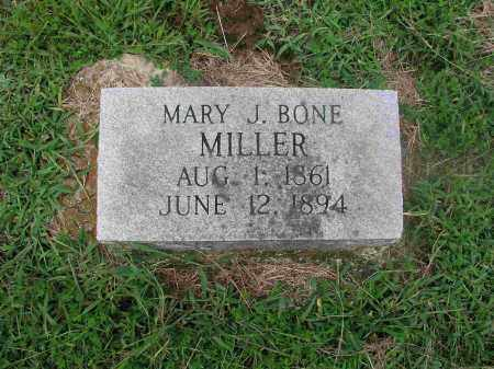 BONE MILLER, MARY JANE - Izard County, Arkansas | MARY JANE BONE MILLER - Arkansas Gravestone Photos