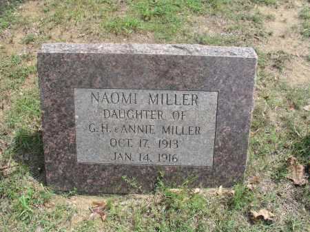 MILLER, NAOMI - Izard County, Arkansas | NAOMI MILLER - Arkansas Gravestone Photos