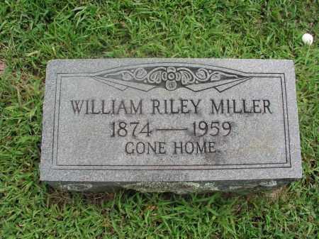 MILLER, WILLIAM RILEY - Izard County, Arkansas | WILLIAM RILEY MILLER - Arkansas Gravestone Photos