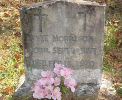 MORRISON, EFFIE - Izard County, Arkansas | EFFIE MORRISON - Arkansas Gravestone Photos