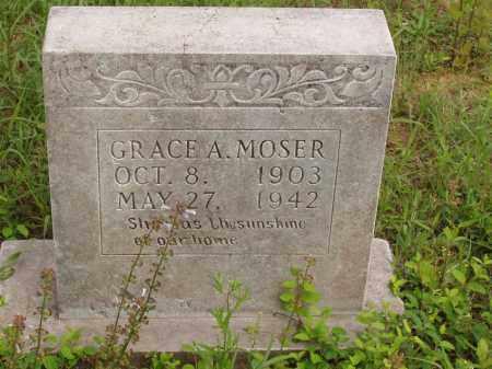 MOSER, GRACE ALTA - Izard County, Arkansas | GRACE ALTA MOSER - Arkansas Gravestone Photos