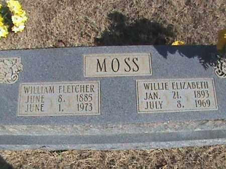 MOSS, WILLIE ELIZABETH - Izard County, Arkansas   WILLIE ELIZABETH MOSS - Arkansas Gravestone Photos