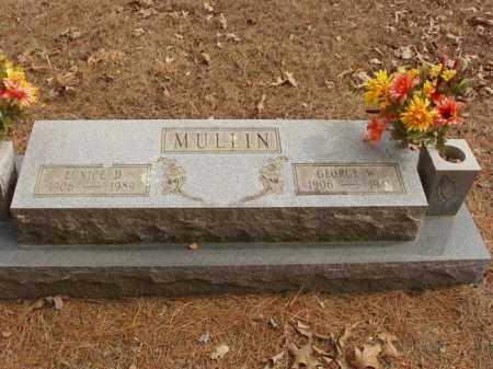 MULLIN, EUNICE D - Izard County, Arkansas | EUNICE D MULLIN - Arkansas Gravestone Photos