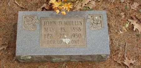 MULLIN, JOHN D - Izard County, Arkansas | JOHN D MULLIN - Arkansas Gravestone Photos