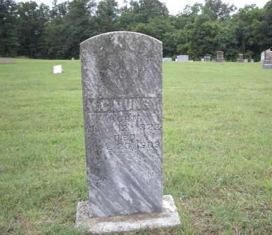 MUNCY, M C - Izard County, Arkansas | M C MUNCY - Arkansas Gravestone Photos