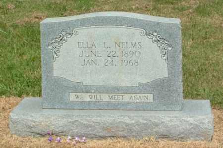 LAWHON NELMS, MARY ELLA - Izard County, Arkansas | MARY ELLA LAWHON NELMS - Arkansas Gravestone Photos