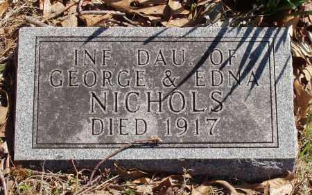 NICHOLS, INFANT DAUGHTER - Izard County, Arkansas | INFANT DAUGHTER NICHOLS - Arkansas Gravestone Photos