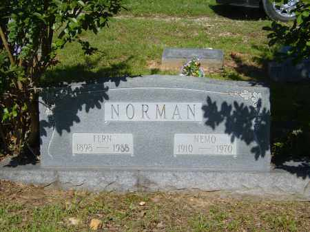 NORMAN, NEMO - Izard County, Arkansas | NEMO NORMAN - Arkansas Gravestone Photos