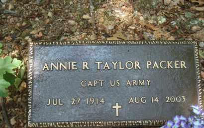 PACKER (VETERAN), ANNIE R (OBIT) - Izard County, Arkansas | ANNIE R (OBIT) PACKER (VETERAN) - Arkansas Gravestone Photos
