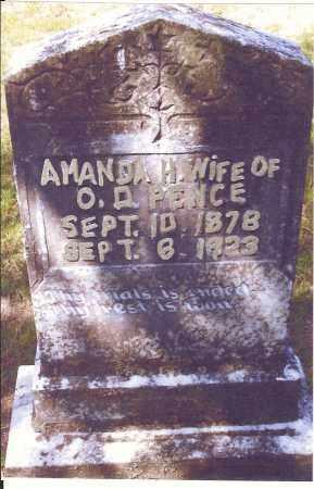 TAYLOR PENCE, AMANDA H. - Izard County, Arkansas | AMANDA H. TAYLOR PENCE - Arkansas Gravestone Photos