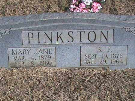 PINKSTON, MARY JANE - Izard County, Arkansas   MARY JANE PINKSTON - Arkansas Gravestone Photos