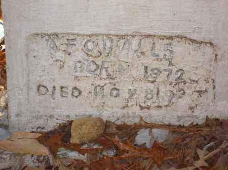 QUALLS, A. F. - Izard County, Arkansas | A. F. QUALLS - Arkansas Gravestone Photos