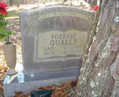 QUALLS, FORREST - Izard County, Arkansas   FORREST QUALLS - Arkansas Gravestone Photos