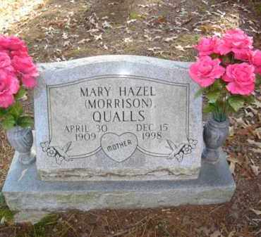 MORRISON QUALLS, MARY HAZEL - Izard County, Arkansas | MARY HAZEL MORRISON QUALLS - Arkansas Gravestone Photos